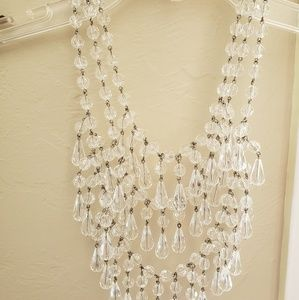 RJ Graziano Lucite Fashion Necklace